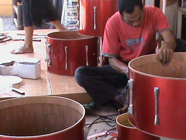 produksi drumband